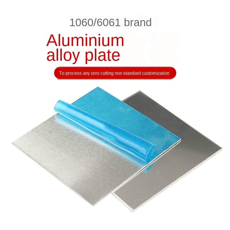 1060 Aluminum Flat Plate Sheet 0.2/0.5/1/2/3/4/5/6/8/10mm Machinery Parts Pure Aluminum Customizable Electrical Application