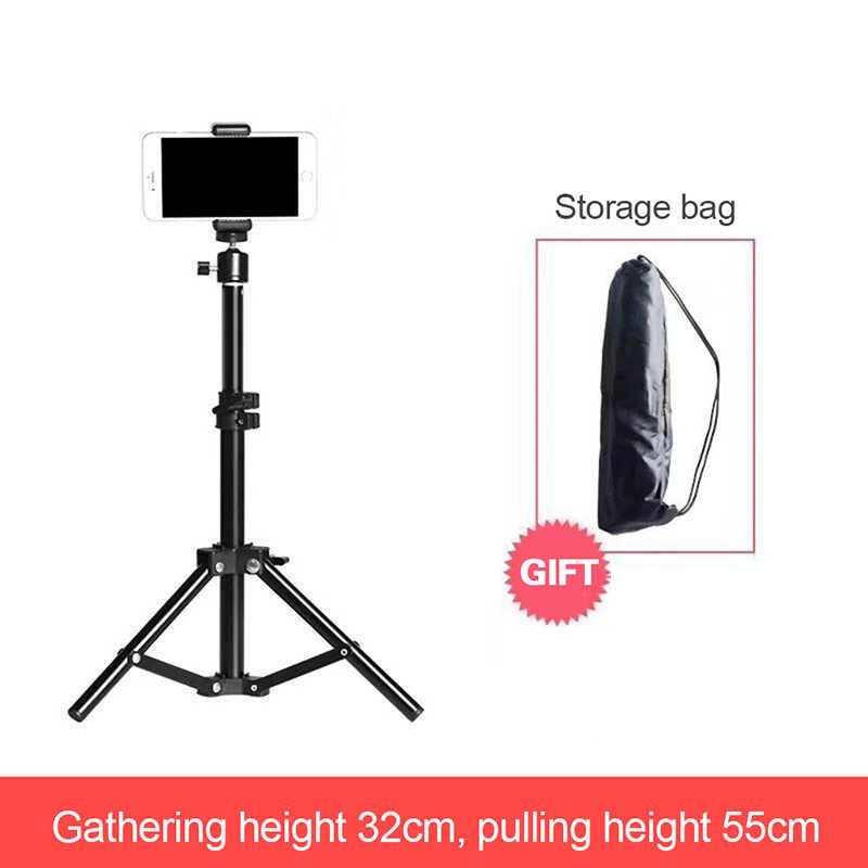 Штатив для камеры телефона для активного отдыха с штативом сумка для хранения мобильного телефона Live кронштейн заполняющий свет лампа штатив
