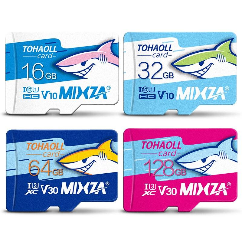 MIXZA HY оригинальный слот для карт памяти 256 ГБ 128 Гб 64 Гб U3 80 МБ/с. 32 Гб sd-карта Class10 UHS-1 флэш-замысловатым Отделом для карт памяти TF sd-карта s