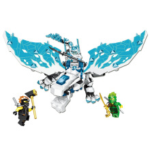 NEW 2019 NINJA Dragon of the Forsaken Emperor Building Blocks Bricks Model Kids City Classic Compatible Marvel Toys bela ninjagoed jay s elemental dragon building blocks sets bricks ninja movie classic model kids toys marvel compatible legoings