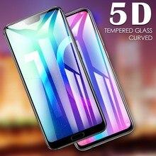5D gebogener Displayschutz aus gehärtetem Glas mit voller Abdeckung für Huawei Honor View 30 30S 10i 20i 20E 20 Pro 10 10X Lite-Schutzfolie