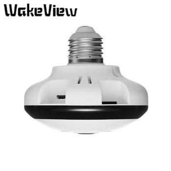 цена на WakeView 1080P 360 Security WiFi Camera Panoramic IP CCTV Video Surveillance Fisheye HD IR LED Night Vision Two Way Audio Camera