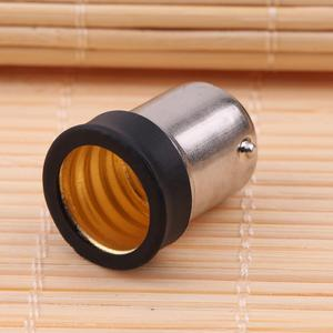 New BA15D to E14 Base LED Light Lamp Bulb Adapter Converter Screw Socket