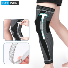 2Pcs Full Leg Knee Brace Compression Sleeve Support with Patella Gel Pads & Side Stabilizers for Meniscus Tear Joint Pain Relief