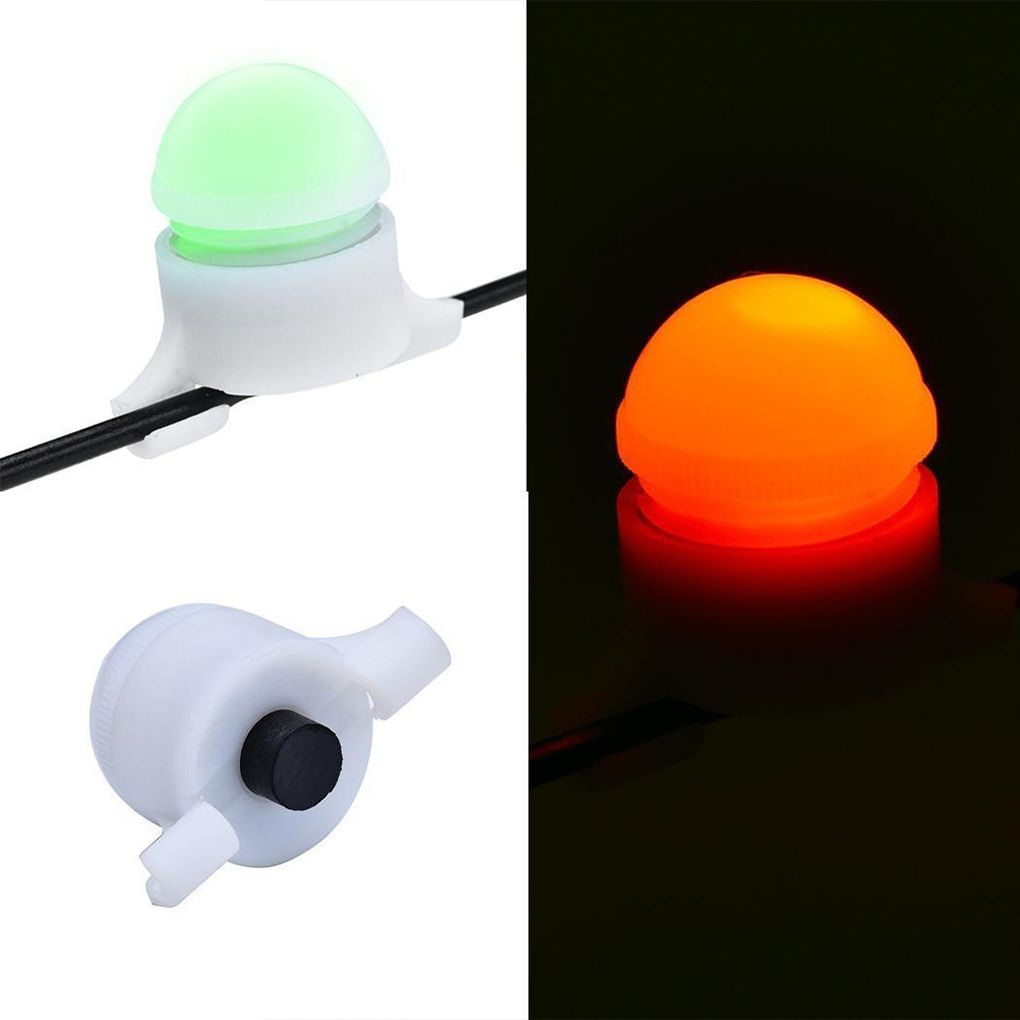 Smart Night Fishing Rod Tip LED Light Bite Alarm Alert Indicator Fishing Supplies Accessories