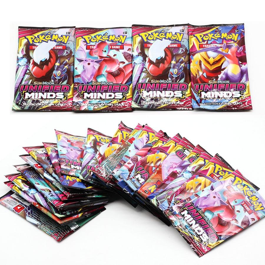 54 Pieces New POKEMON Card English Version TAKARA TOMY Pokemon Battle Collection Card Box Kids Toy Gift