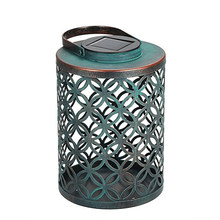 Yard Eco-friendly Ornament Hanging Lantern Energy Saving Outdoor Garden Solar Light LED Decorative Anti Slip Vintage Home(China)