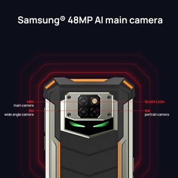 DOOGEE S88 Plus Rugged SmartPhone 48MP Main Camera 8GB RAM 128GB ROM IP68/IP69K smart phone Android 10 OS Global version 2