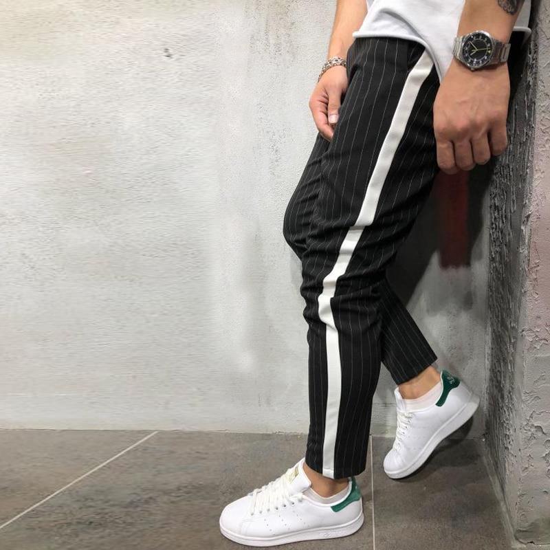 H228b1050cf774ecaaa2d1c253172f335U Spring Autumn Casual Men Sweat Pants Male Sportswear Casual Trousers Straight Pants Hip Hop High Street Trousers Pants Joggers
