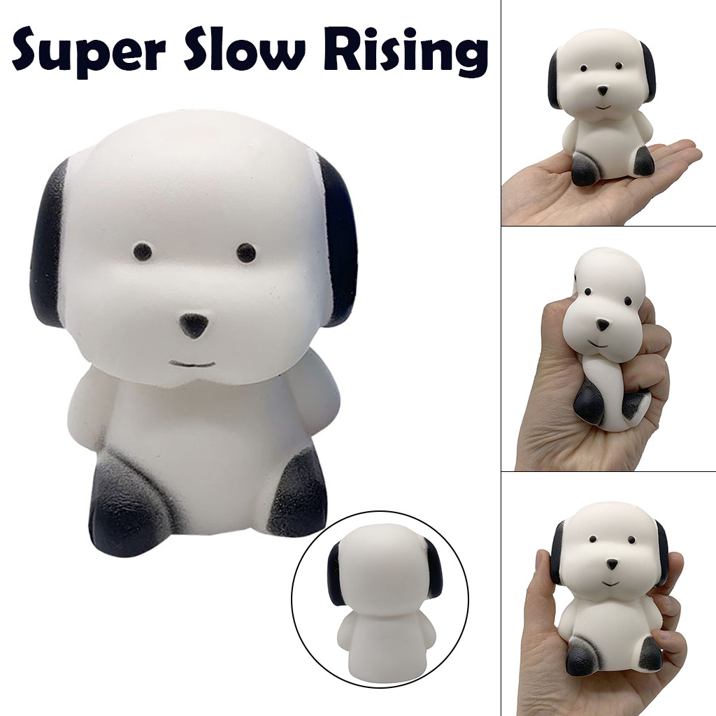 Squishy Kawaii Gigantes Soft Squeeze Toys Squishy Fun Adorable Dog Scented Charm Slow Rising Collection Stress Reliever ToysW731