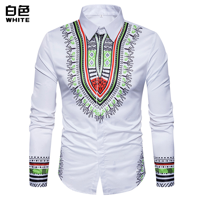 The New Men's 3D Printed Long-sleeved Shirt Is Popular For Men. Streetwear  Men Shirt Long Sleeve  Shirts For Men  Fashion Long