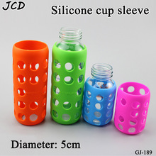 Bottom diameter 5cm, anti scalding and anti slip cup cover, children's silicone glass milk bottle, anti falling protective cover protecting and refitting anti falling stick for anti falling rubber body of for kawasaki z250 motorcycle