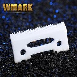 1/2/10/100 pces 2-hole stagger-dente cerâmica lâmina móvel com caixa para lâmina substituível clipper sem fio