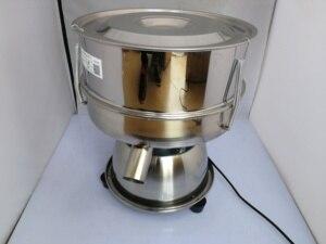 Image 1 - Titreşimli elek, elek tozu makinesi, paslanmaz çelik küçük elektrikli elek filtre, ilaç tozu titreşim eleme makinesi