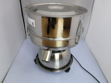 Vibrating screen, sieve powder machine,  stainless steel small electric sieve filter,medicine powder Vibration screening machine
