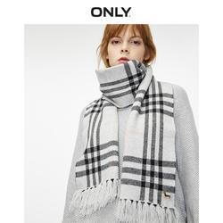 ONLY summer new retro temperament British style design lattice fringed thin scarf female | 11946G501