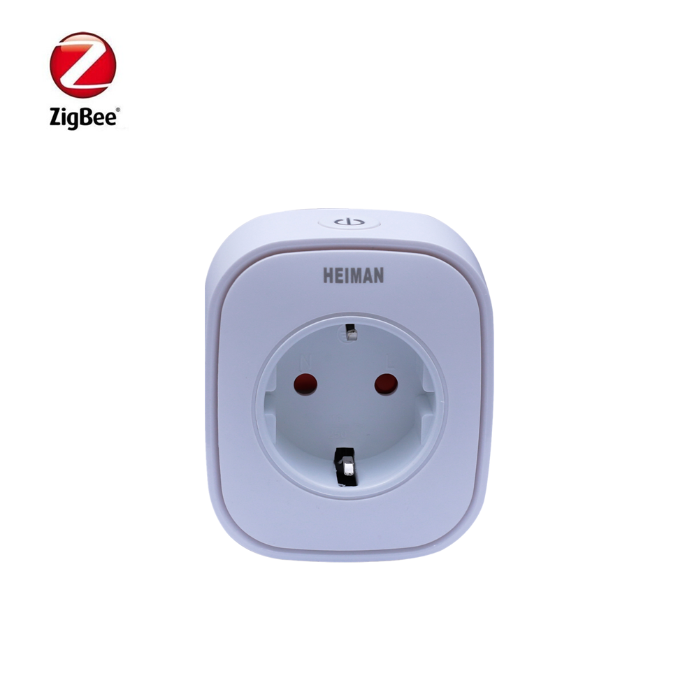 Promotion Heiman Zigbee 16A Power Metering Plug Control Power On Off Socket For Smart Home Device
