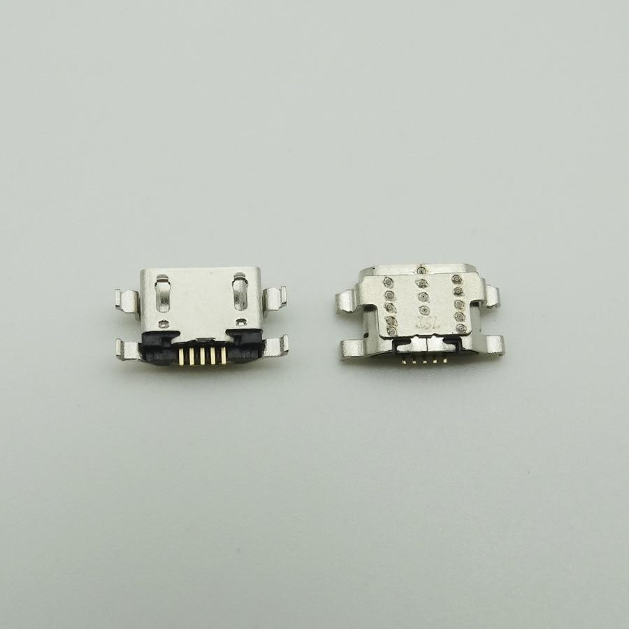 2pcs 마이크로 충전 포트 USB 커넥터 충전기 소켓 전원 플러그 독 Amazon Fire HD 10 SL056ZE 7 세대