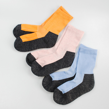 Merino wool thermal kids socks baby girl boy sockes thick in the winter 6-14 years old 1