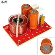 80W Luidspreker 2 Weg Audio Frequentieverdeler Luidspreker 2 Unit Crossover Filters Voor Luidsprekers