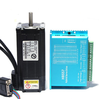 HBS57 Closed loop servo motor driver Hybrid stepping servo driver CNC controller DC24 60V and supporting driver