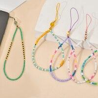 Accessorio di moda cinturini per telefono carino cinturino per cordino Vintage corda da polso corda per mano per custodia per cellulare portachiavi in corda