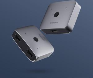 Image 4 - Youpin HAGiBiS שני דרך הפצת HDMI Switcher תמיכת HD 4K מתאים HDMI ממשק מכשירים