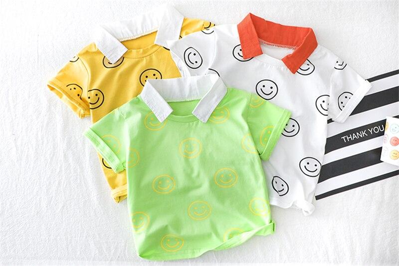 verao infantil camisa manga curta denim shorts 05