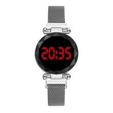 2020 New LED watch unique design digital women watches student sports relogio masculino zegarek damski