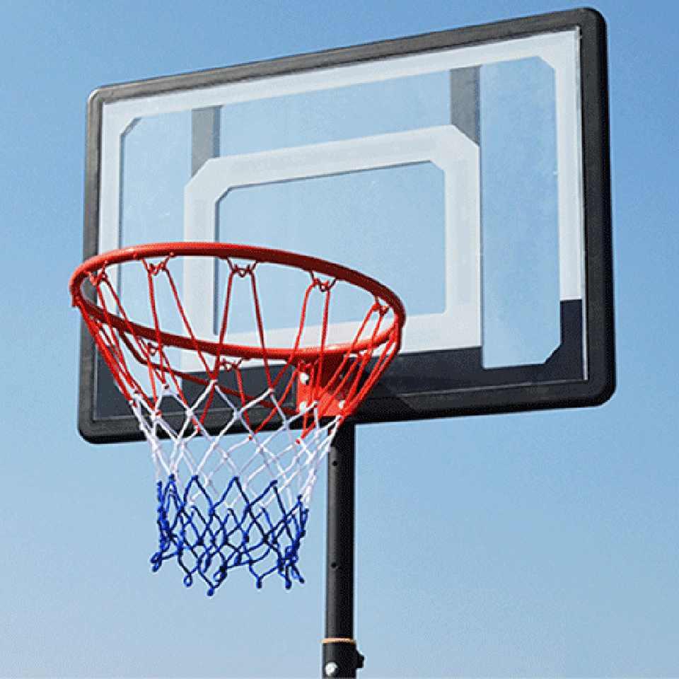 softneco Llanta De GOL De Baloncesto Est/ándar para Exterior Es Al Aire Libre,Profesional Aro De Baloncesto para Adultos,Montaje En Pared Canasta De Baloncesto