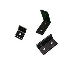 1PC 2020 2040 3030 L Shape Black Corner Brackets Fitting Angle Aluminum Connector for Aluminium Profile