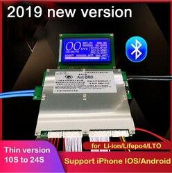 Приложение Smart Bluetooth 300A 200A 100A 70A литиевая батарея защитная доска баланс BMS Li-Ion lifepo4 LTO 10S 13S 14S 16S 20S 24S