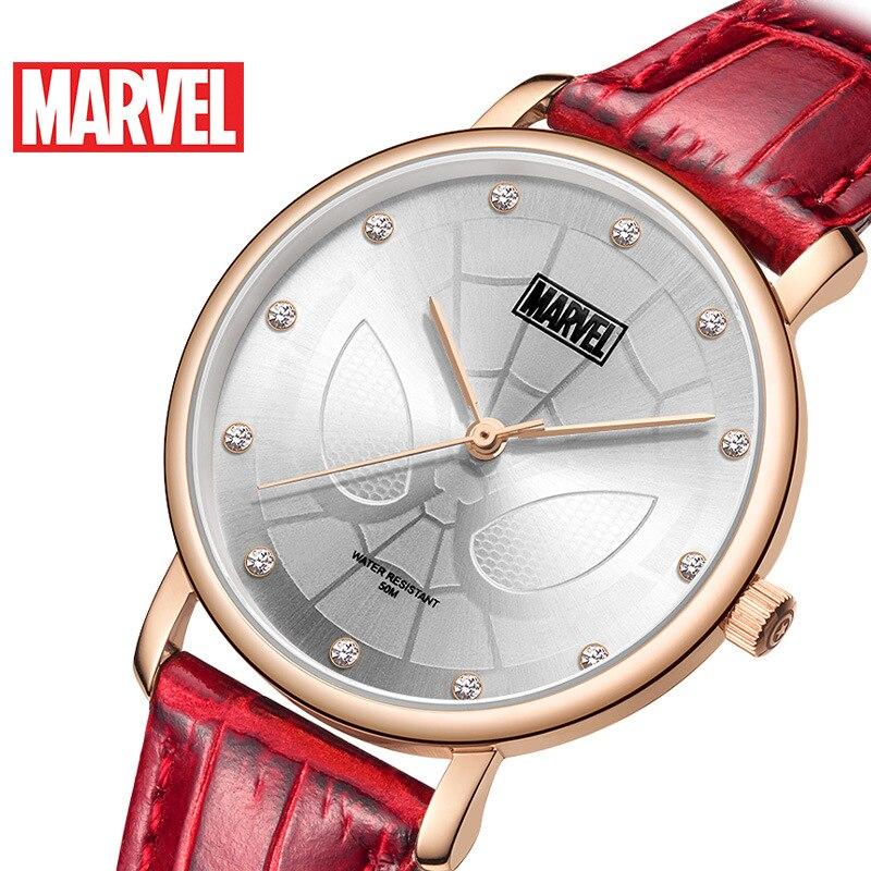 Disney Marvel Quarzuhr Gürtel Casual Persönlichkeit Student Wasserdichte Uhr Frauen Uhren Fashion & Casual 3Bar Schnalle Legierung - 5