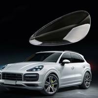 For Porsche Cayenne 2011 2013 Headlight Shell Lamp Shade Transparent Lens Cover Headlight Glass Head Light Lamp Cover