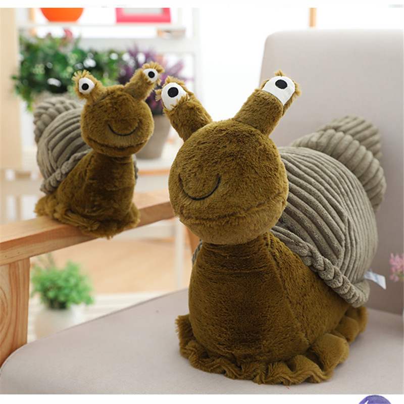 2020New Kawaii Animal Crossing Plush Cute Snail Doll Toys Peluche Comfort Animal Pillow Juguetes Home Decoration Baby Room Toys