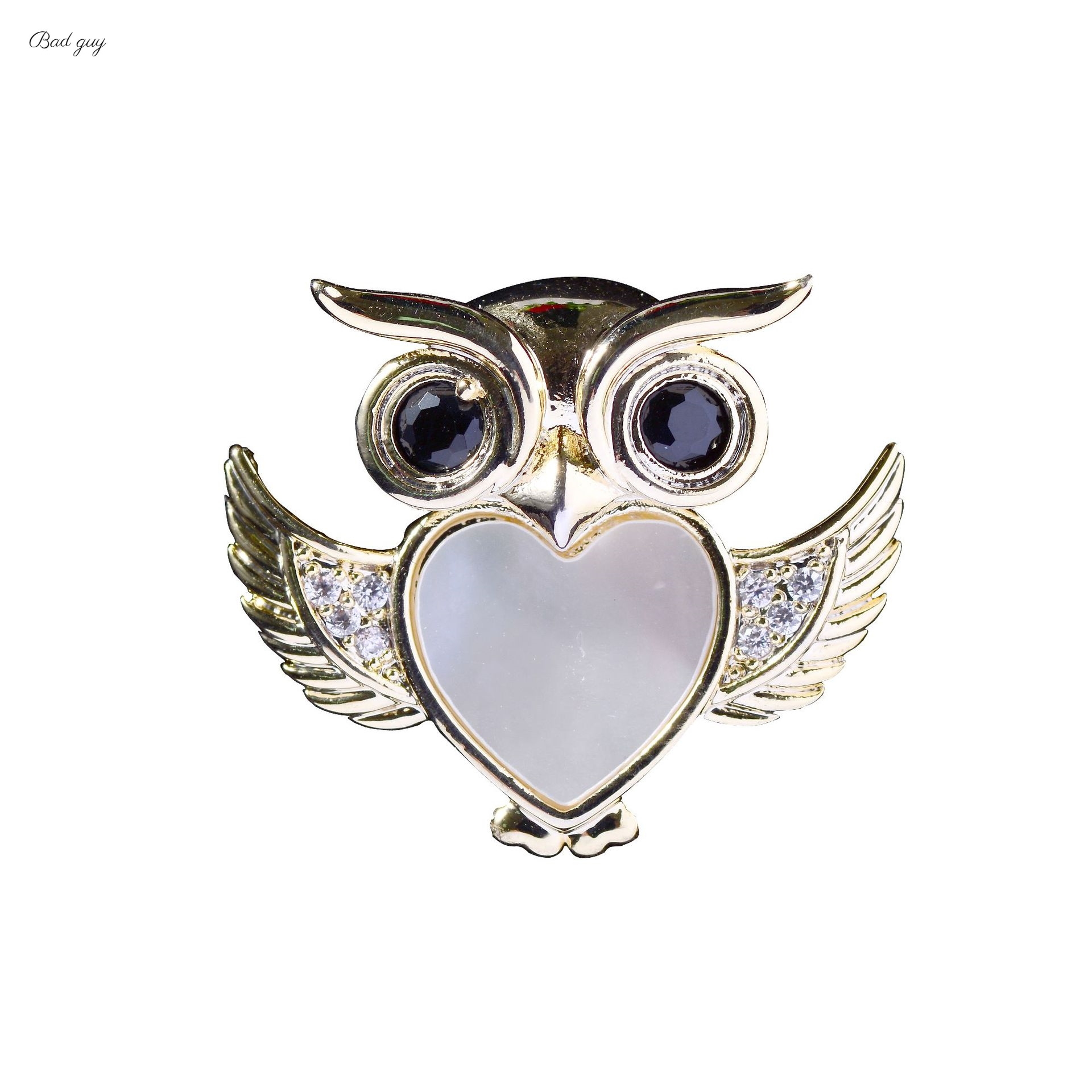 Bad Guy Zircon Brooches For Women Animal Party Causal Brooch Pin Gift Shirt Collar Pins Brooches for Women Accessories Brooch-0