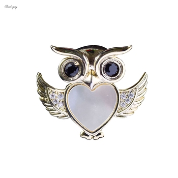 Bad Guy Zircon Brooches For Women Animal Party Causal Brooch Pin Gift Shirt Collar Pins Brooches for Women Accessories Brooch