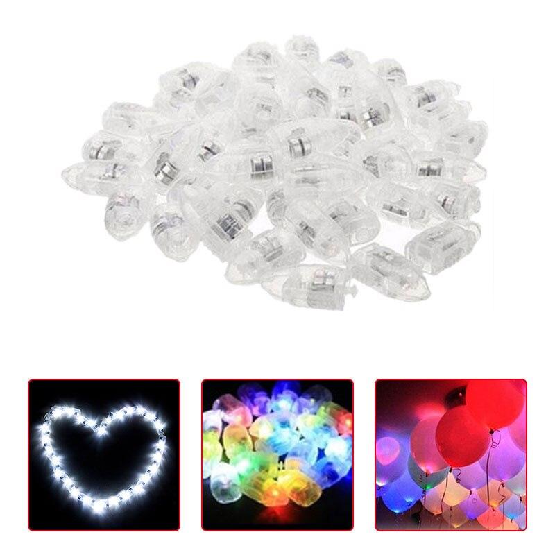20pcs LED Light Up Balloon Lights Xmas Christmas Birthday Party Decoration
