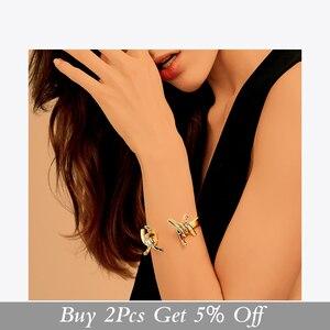 Image 2 - Enfashion תכשיטי קוצים דוקרני צמיד Noeud armband זהב צבע צמיד צמיד לנשים קאף צמידי Manchette צמידים
