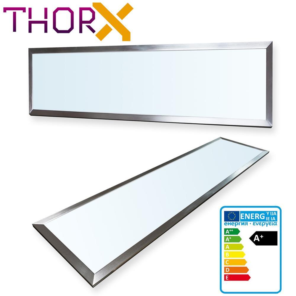 ThorX 120x30 Cm Ultraslim LED Panel  - 36W, 3000lm Led Driver 100-240V, Cool/warm/neutral White Japan Korea Fast Shipping