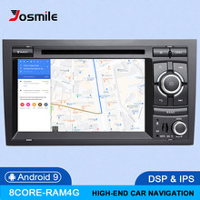 4GB DSP 2 Din GPS Android 9.0 voiture lecteur DVD Radio pour Audi A4 B8 S4 B6 B7 RS4 8E 8H B9 siège Exeo2002-2008 Multimeida Navigation(China)