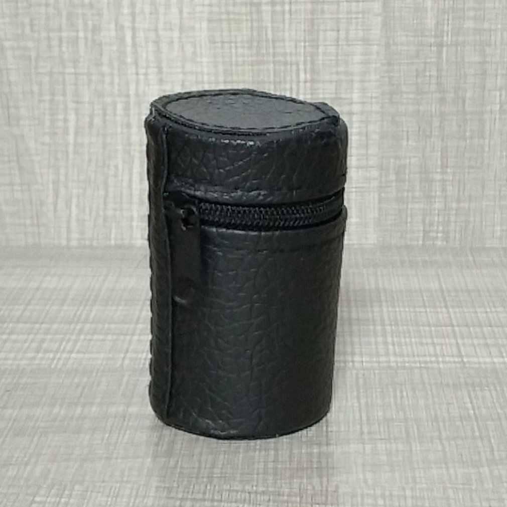 Cubierta de cuero suave ligero de diseño de lujo para las tazas de Camping taza portabotellas con cremallera