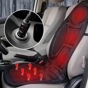 Image 3 - 12V électrique chauffé siège de voiture housse de coussin siège chauffage plus chaud hiver ménage chauffage siège coussin