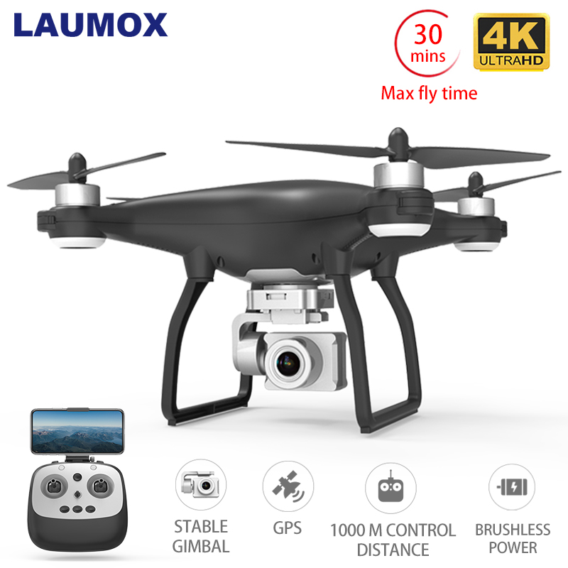 LAUMOX Quadcopter Drones Camera Stabilizer Flight Gimbal Profissional Wifi RC Brushless Motor title=
