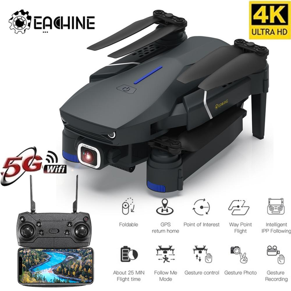 Eachine E520/E520S WIFI FPV With 4K/1080P HD Wide Angle Camera High Hold Mode Foldable RC Drone Quadcopter RTF|RC Helicopters|   - AliExpress