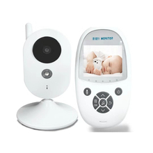 цена на New 2.4 inch LCD Wireless IR Night Vision 2 Way Talk Video Baby Monitor Temperature Monitoring Wifi Baby Nanny Security Camera