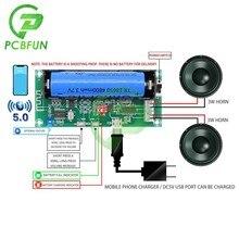 XH-A153 bateria de lítio bluetooth 5.0 duplo-canal 2 ch canal estéreo placa amplificador de baixa potência 3w + 3w dc 5v pam8403 chip