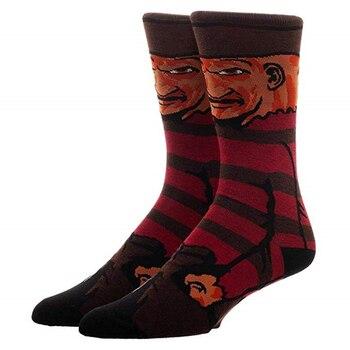 Cartoon Rabbit Sock Casual Hip Hop Creative Soft Comfortable Funny Novelty Skateboard socks Men Calcetines Hombre Divertido 26