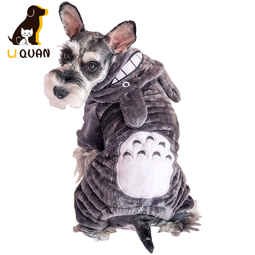 Warm Soft Fleece Pet Dog Clothes Winter Warm Fleece Coat Jackets Puppy Cat Hoodies Costumes Clothing Autumn Winter Clothing