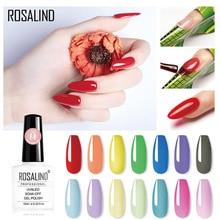 ROSALIND Colorful Builder Gel Nail Polish Clear Nail Gel Varnishes For Nail Art Designed Soak off Semi Permanent UV Lamp Gel